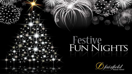 Christmas & New Year Party Nights 2017 at The Fairfield Hotel in Ayr